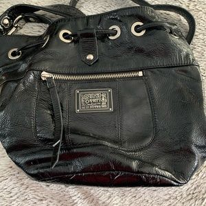 Medium Coach cross body purse